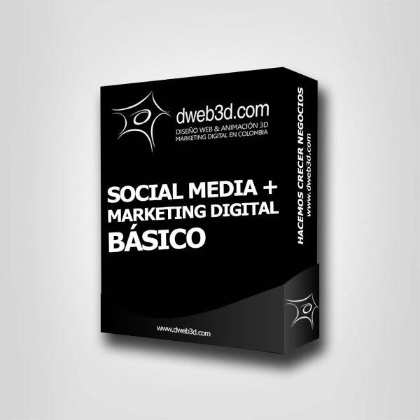 comprar paquete de social media + marketing digital básico